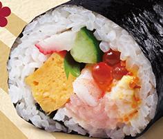 はま寿司の特上海鮮恵方巻