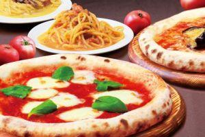 ピザハットナチュラル、ピザやパスタ