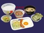 松屋の朝食メニュー価格一覧、朝定食の時間、お持ち帰りなど(2015年8月現在)