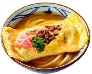 丸亀製麺 だし玉肉づつみうどん