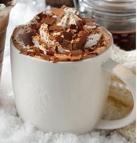 スタバ「チョコラティ クランブル ココ」