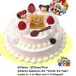 サーティーワン、アイスケーキ2016「ツムツム」クリスマスデコレーションケーキ
