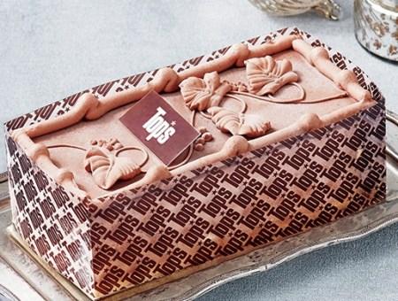セブンイレブンのクリスマスケーキ2016「トップス チョコレートアイスケーキ」
