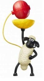 ハッピーセット、ひつじのショーンのおもちゃ一例2017年5月