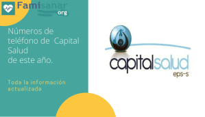 Número de Capital Salud