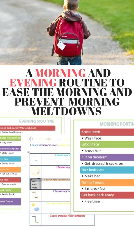 There is nothing like a good morning routine printable that helps my kids become more dependent and ready for school without the drama..