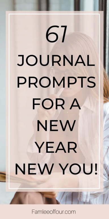 This year is different and you are committed to making positive changes in your life. But do you know the first step is discovering what you want. Understanding the things that makes you happy and creating a foundation from there. Click through for 61 insightful bullet journal prompts for self discovery. Personal Development  Self Help, bring you closer to the life you've always wanted. #journalprompts #journalideas #journalquestions #personalgrowth #selfcare