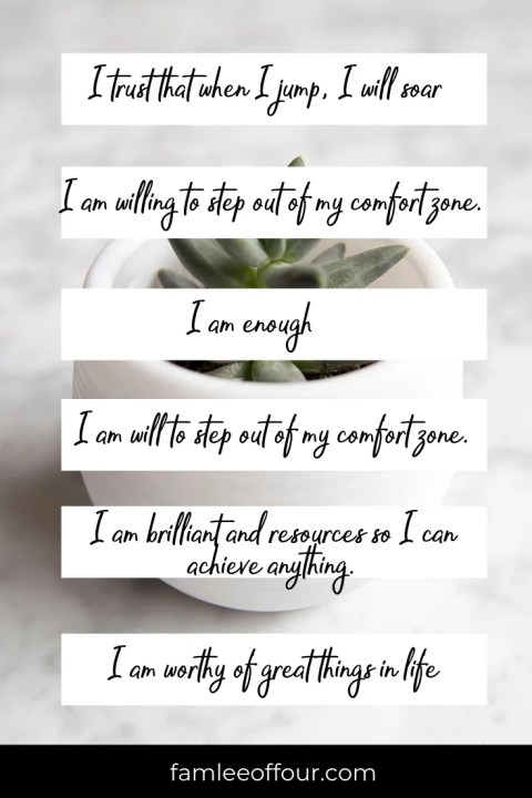 Step by Step Tips to Create Affirmations to Change your Life. Click through for  60+ Affirmations to help boost your self-esteem. #selflove #selfhelp #selfcare #mentalhealth #selfesteem #confidence #affirmations #positiveaffirmations