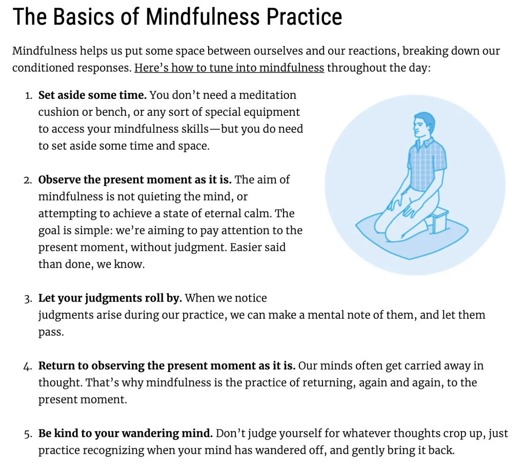 How to be mindful so you can have a successful life