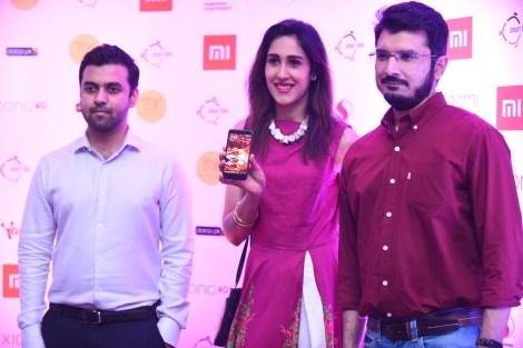 Zain, Mira Sethi and Yasir