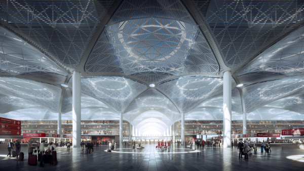 istanbul new airport interior