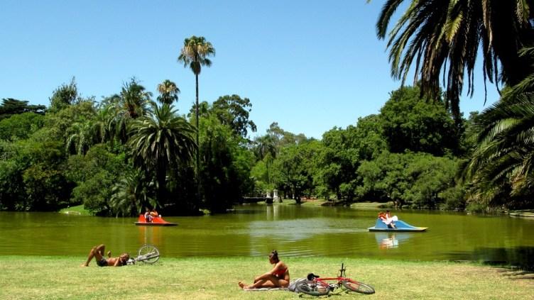 una giornata di sole ai Bosques de Palermo