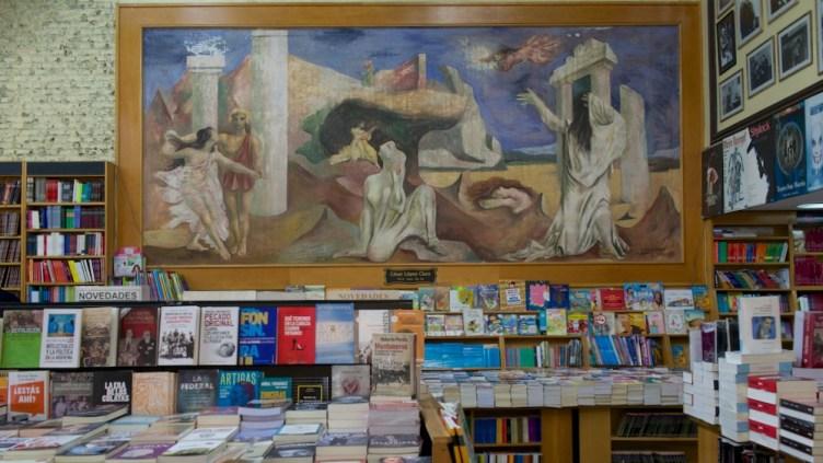 la Libreria Losada, sulla Avenida Corrientes, per libri di arte, storia, letteratura e scienze sociali