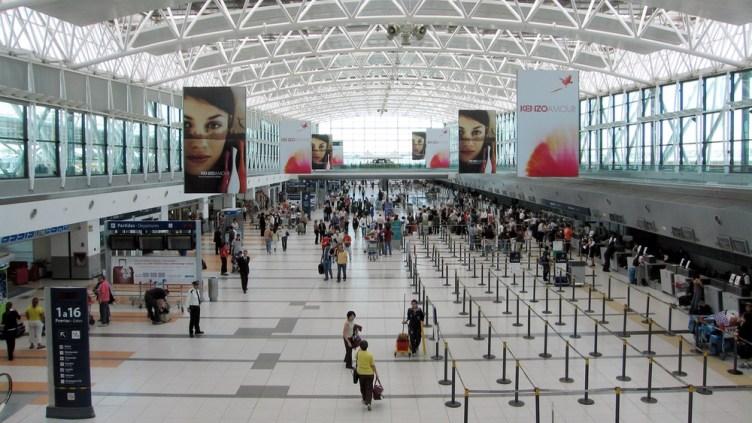 il Terminal A dell'aeroporto intercontinentale di Ezeiza EZE