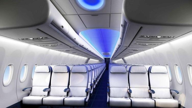 la cabina di una aereo deve essere pulita e disinfettata