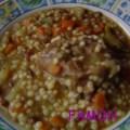 soupe de légumes aux plombs berkoukes