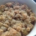 Crumble de pralin aux pommes