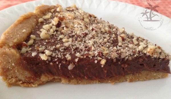 Cheesecake sans cuisson au chocolat et noisettes
