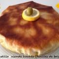 Pastilla viande hachée (feuilles de brick)