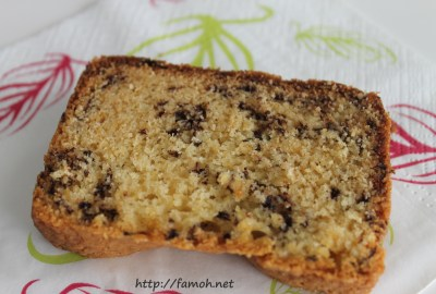 Cake aux fourmis.