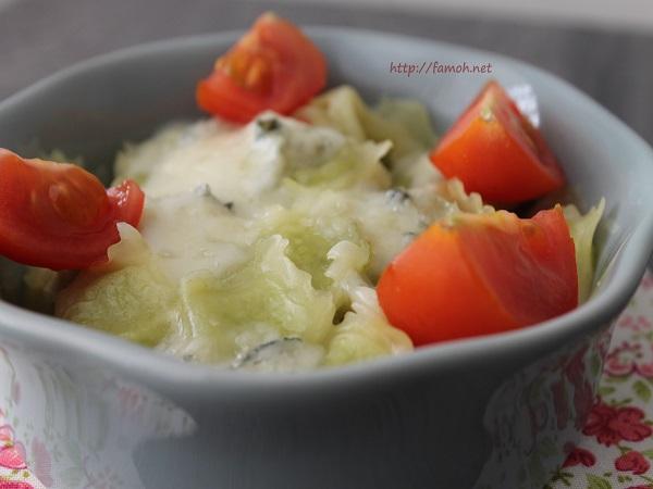 Gratinée de ravioles au gorgonzola