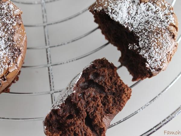 Mini gâteaux chocolat