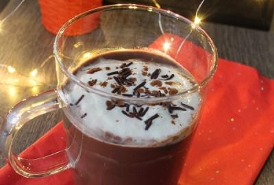 doux chocolat chaud