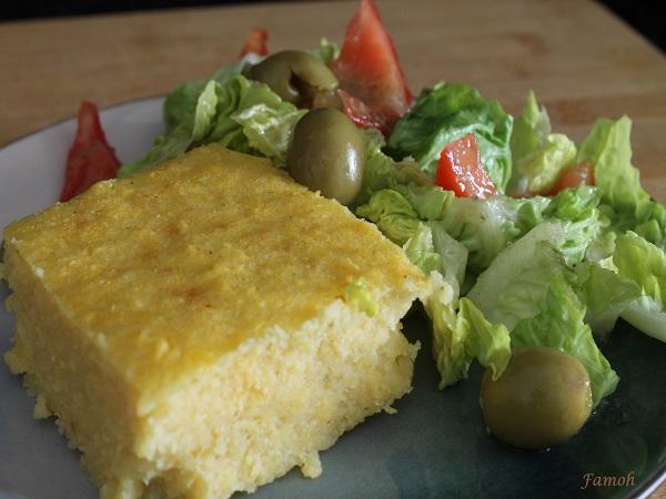 polenta facile au parmesan