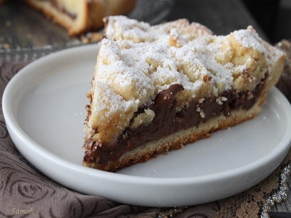torta sbriciolata chocolat
