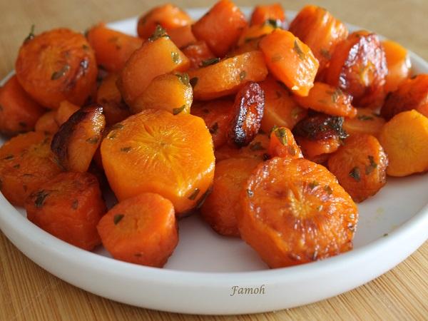 poêlée de carottes au cookeo