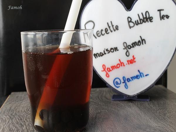 recette bubble tea maison