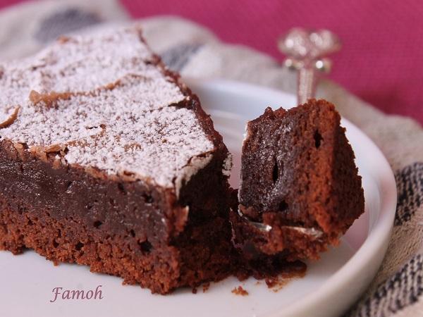 fondant au chocolat sans beurre et rapide