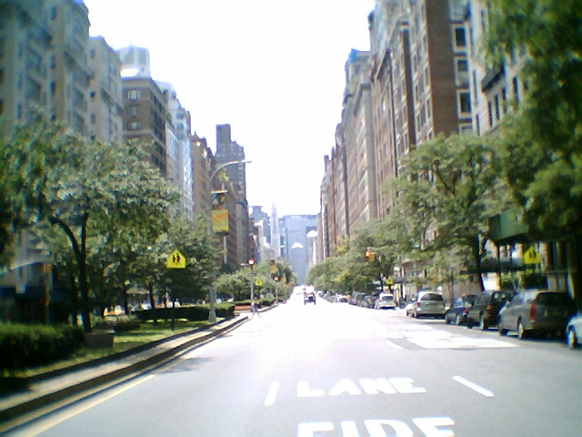 South view down Park Avenue around 77th
