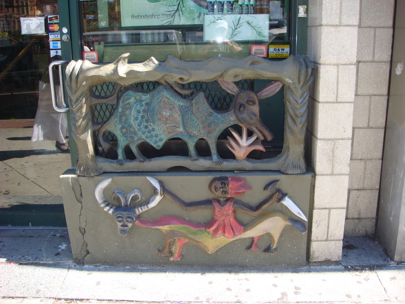 African theme storefrontgrill