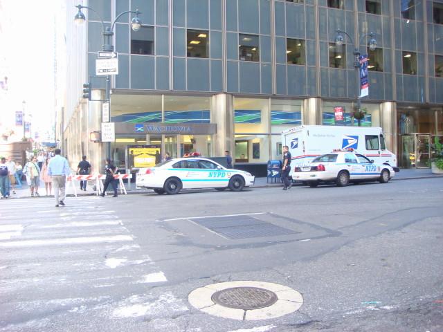 Police at Wachovia1