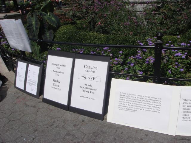 Union Square Tax protest2