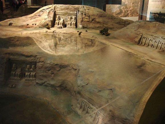 Abu Simbel temples Ramses II and Neferneferuaten Nefertiti