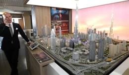 City Model display exhibit