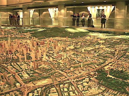 City Model Nanjing