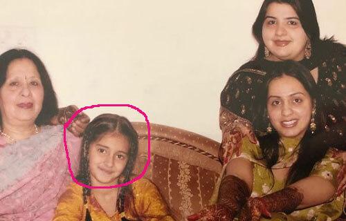 Ananya Pandey Childhood imahe