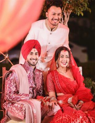 Neha Kakkar Marriage photo