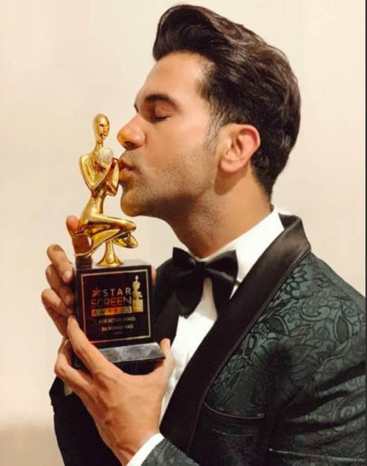 Rajkummar Rao Got Award