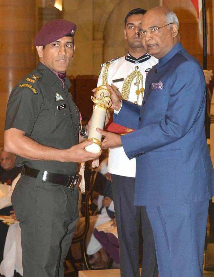Mahendra Singh Dhoni army