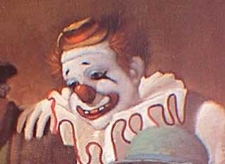 Felix Adler, world famous circus clown