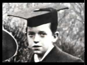 Young Stan Laurel graduation