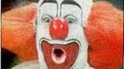 Bozo the Clown, portrayed by Bob Bell