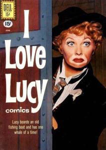 I Love Lucy comic