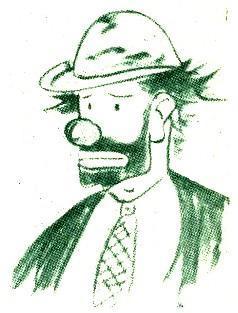 Weary Willy sketch by Emmett Kelly