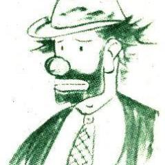 Weary Willy sketch by Emmett Kelly