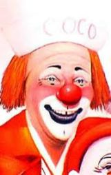 """clown pictures - Michael Polakov - """"Coco"""" - 1991 Clown Hall of Fame"""